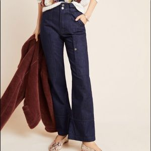 NWT ANTHROPOLOGIE CURRENT AIR Denim Jeans XS